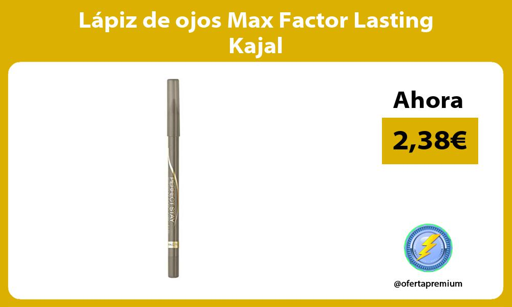 Lápiz de ojos Max Factor Lasting Kajal