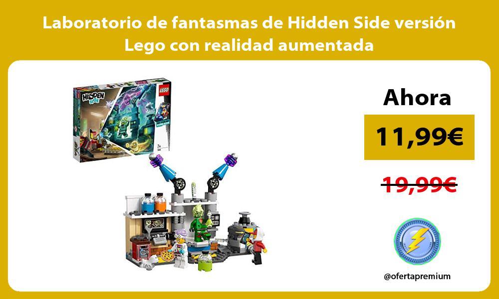 Laboratorio de fantasmas de Hidden Side versión Lego con realidad aumentada