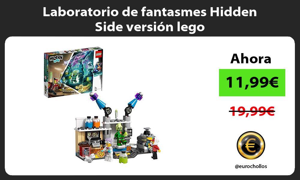 Laboratorio de fantasmes Hidden Side versión lego