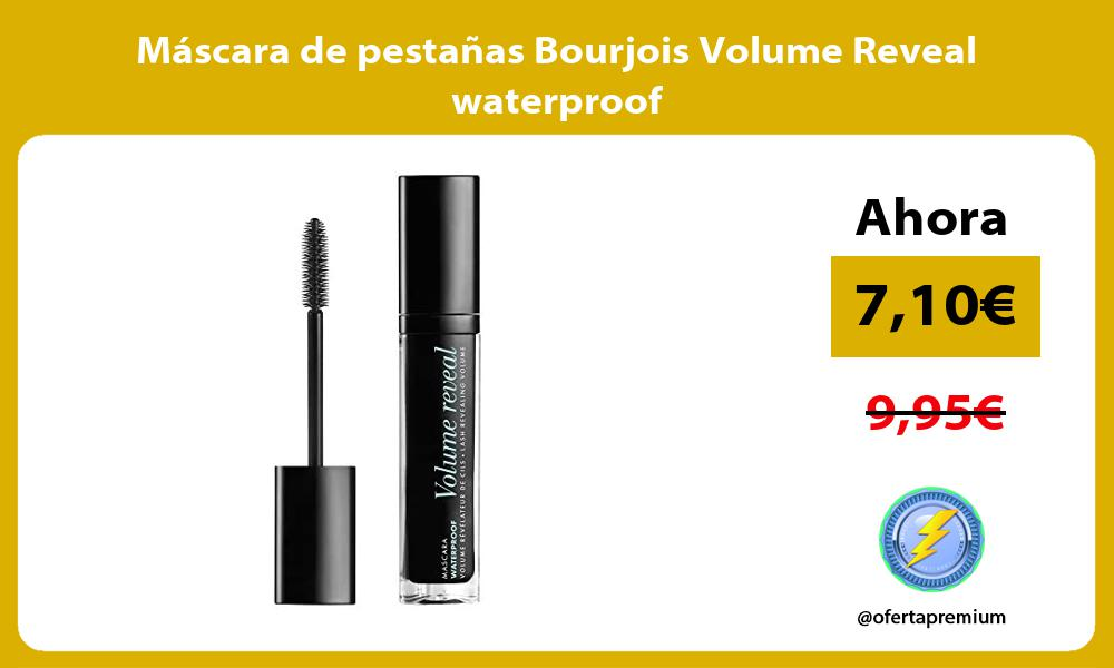 Máscara de pestañas Bourjois Volume Reveal waterproof