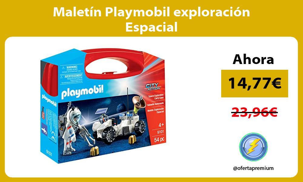 Maletín Playmobil exploración Espacial