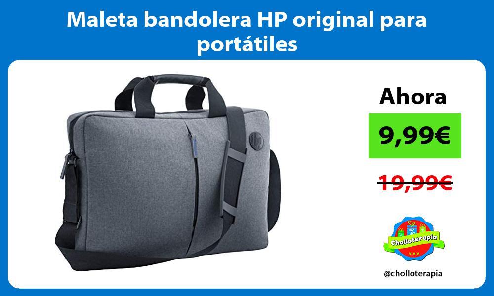 Maleta bandolera HP original para portátiles
