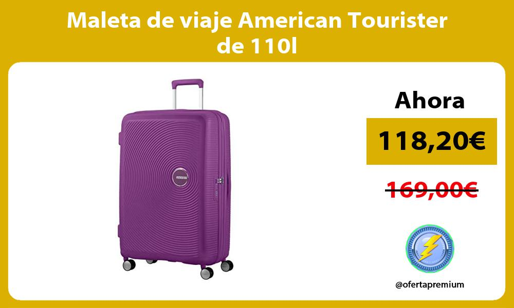 Maleta de viaje American Tourister de 110l