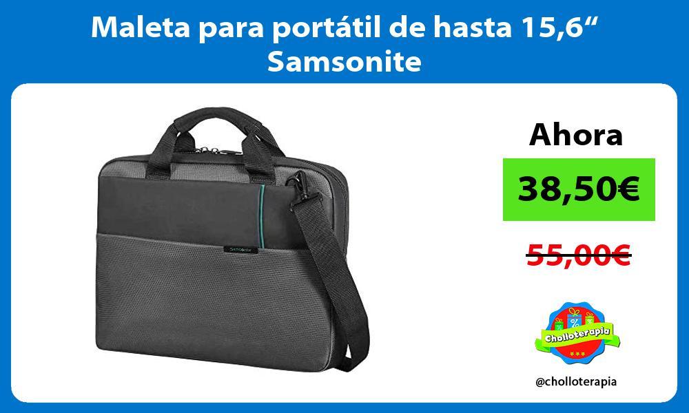 "Maleta para portátil de hasta 156"" Samsonite"