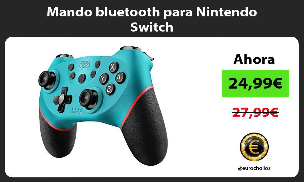 Mando bluetooth para Nintendo Switch
