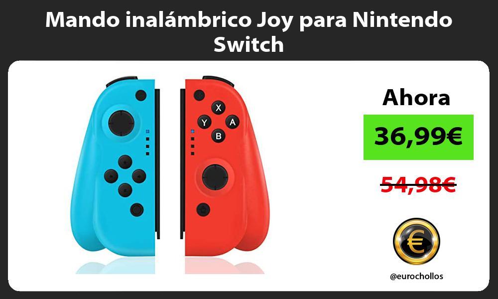 Mando inalámbrico Joy para Nintendo Switch