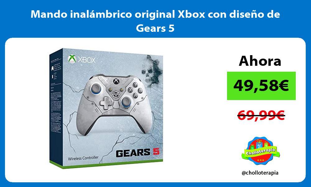 Mando inalámbrico original Xbox con diseño de Gears 5