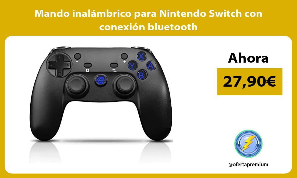Mando inalámbrico para Nintendo Switch con conexión bluetooth