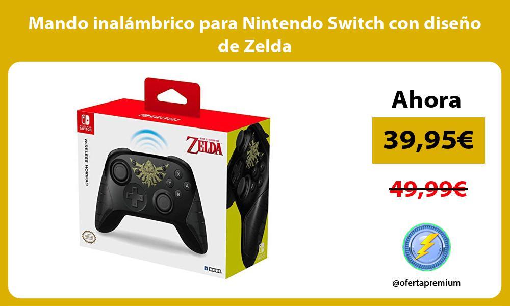 Mando inalámbrico para Nintendo Switch con diseño de Zelda