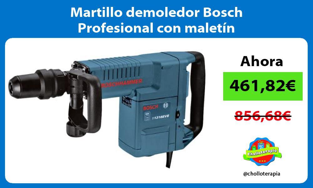 Martillo demoledor Bosch Profesional con maletín
