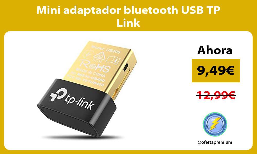 Mini adaptador bluetooth USB TP Link