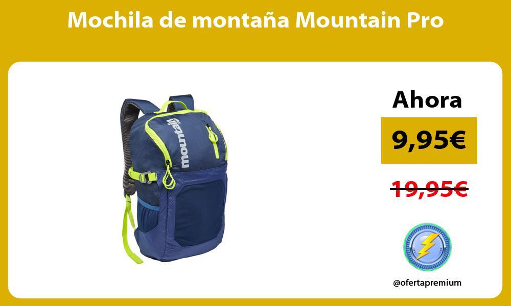 Mochila de montaña Mountain Pro