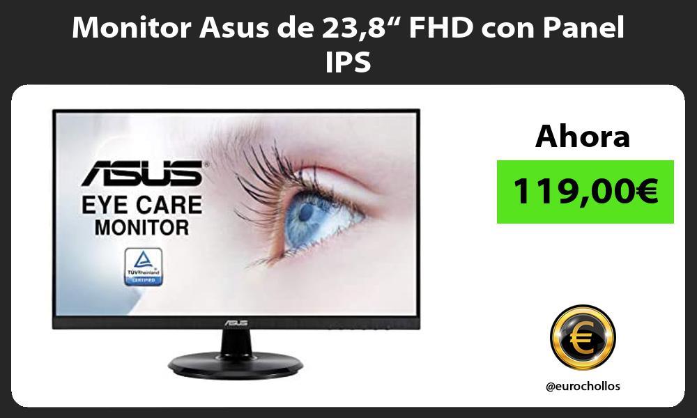 "Monitor Asus de 238"" FHD con Panel IPS"