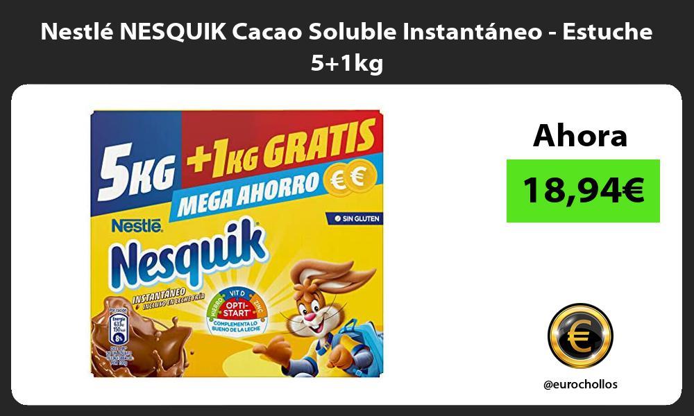 Nestlé NESQUIK Cacao Soluble Instantáneo Estuche 51kg