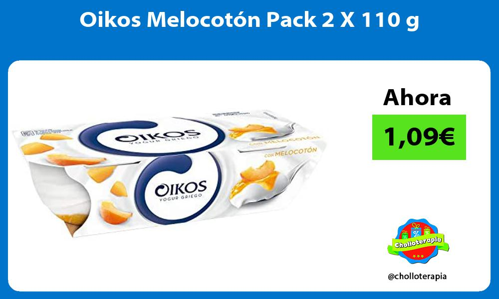 Oikos Melocotón Pack 2 X 110 g