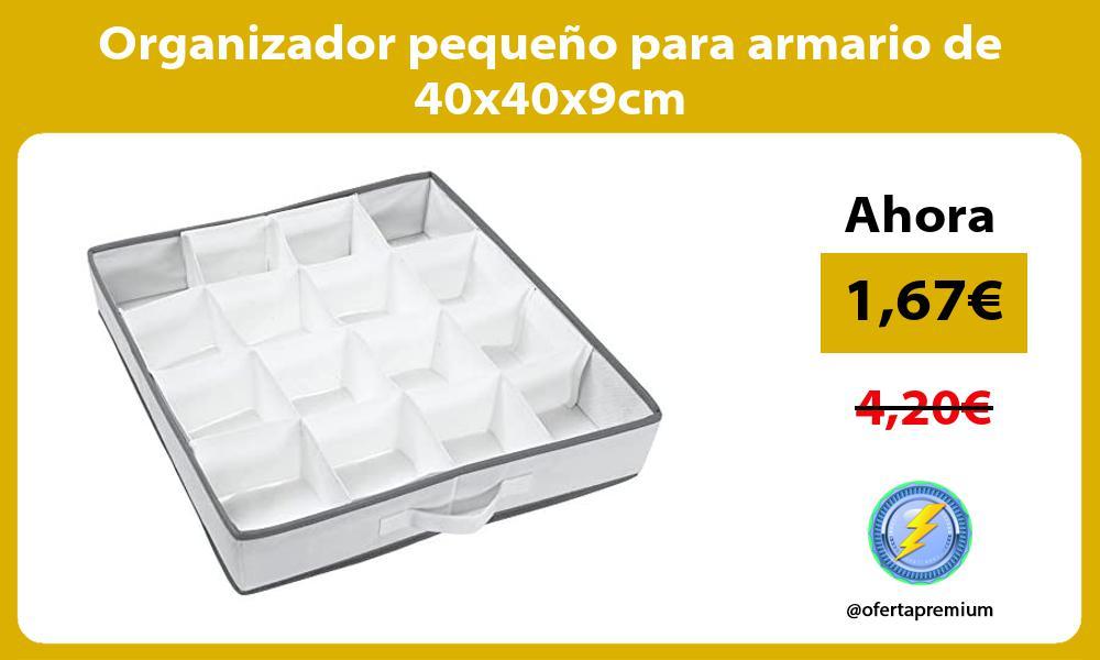 Organizador pequeño para armario de 40x40x9cm