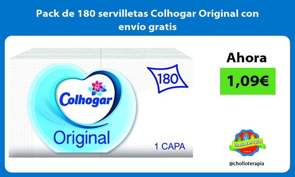 Pack de 180 servilletas Colhogar Original con envío gratis