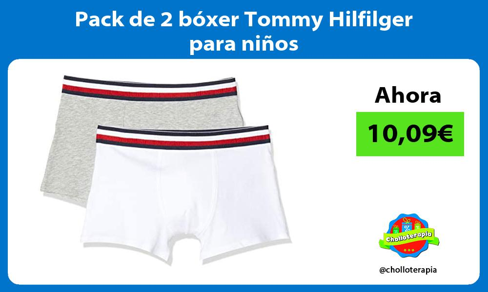 Pack de 2 bóxer Tommy Hilfilger para niños