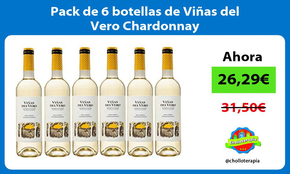 Pack de 6 botellas de Viñas del Vero Chardonnay