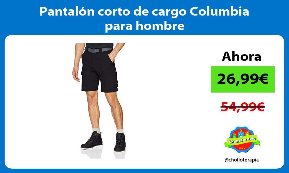 Pantalón corto de cargo Columbia para hombre