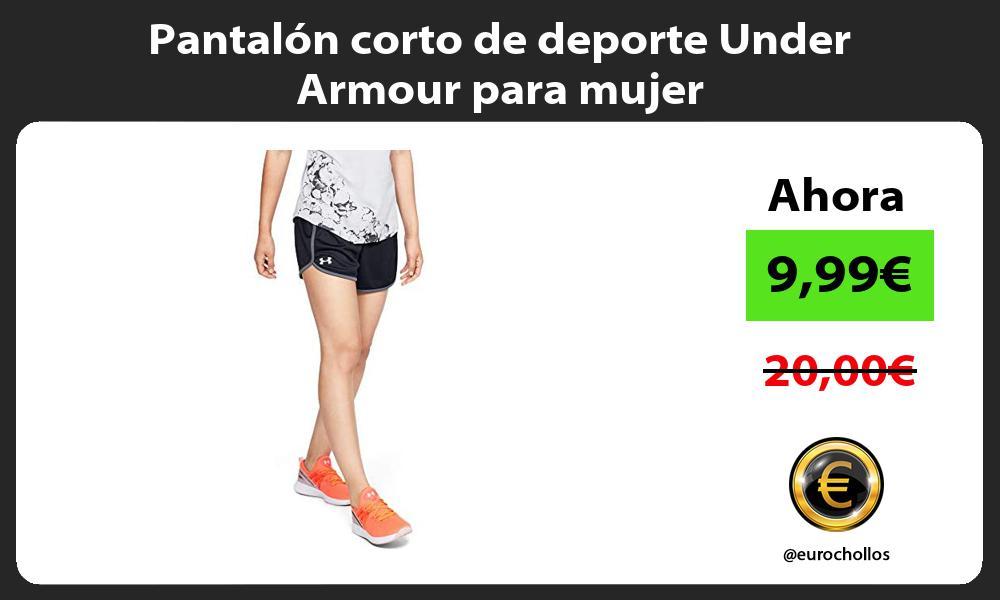 Pantalón corto de deporte Under Armour para mujer