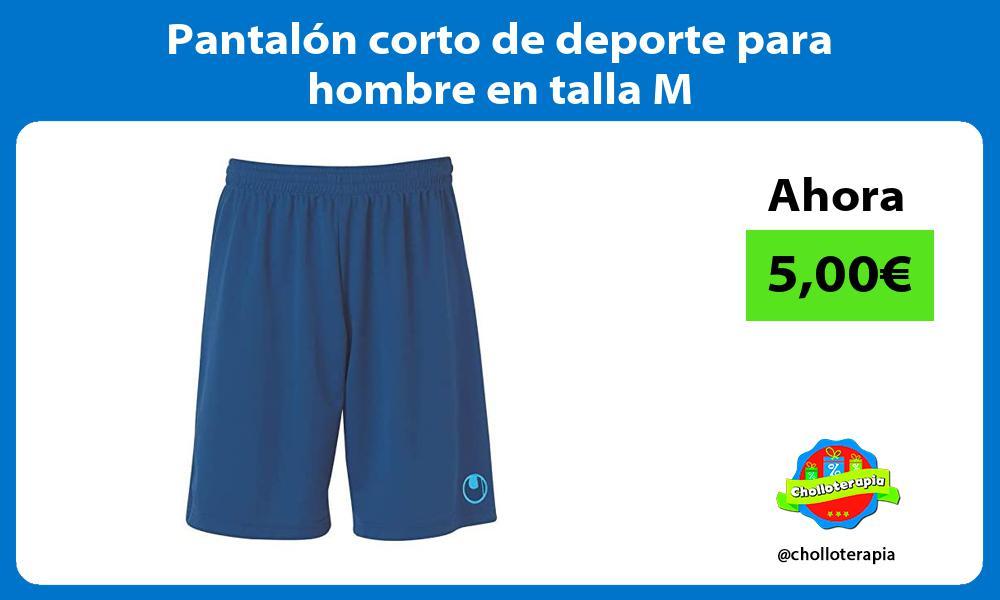 Pantalón corto de deporte para hombre en talla M