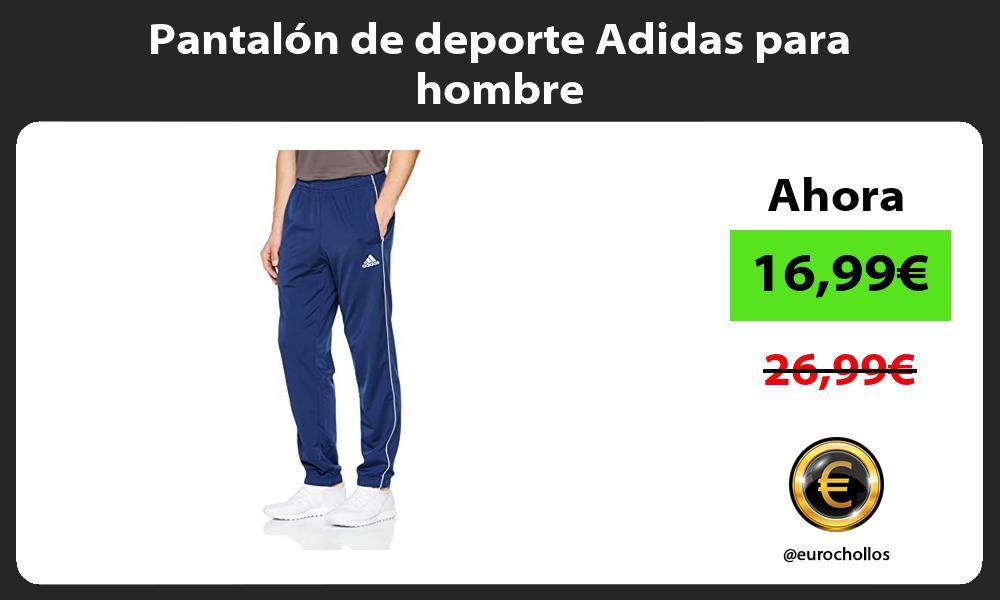 Pantalón de deporte Adidas para hombre