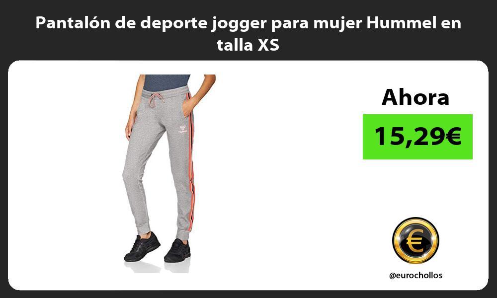 Pantalón de deporte jogger para mujer Hummel en talla XS