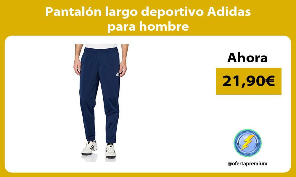 Pantalón largo deportivo Adidas para hombre