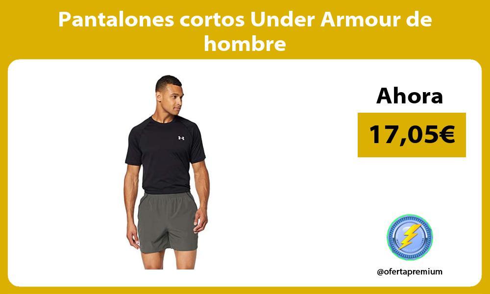 Pantalones cortos Under Armour de hombre