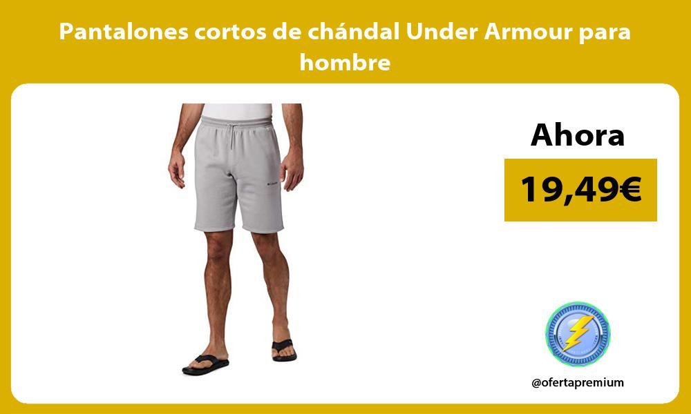Pantalones cortos de chándal Under Armour para hombre