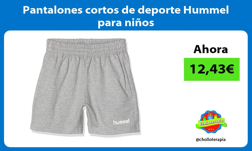 Pantalones cortos de deporte Hummel para niños