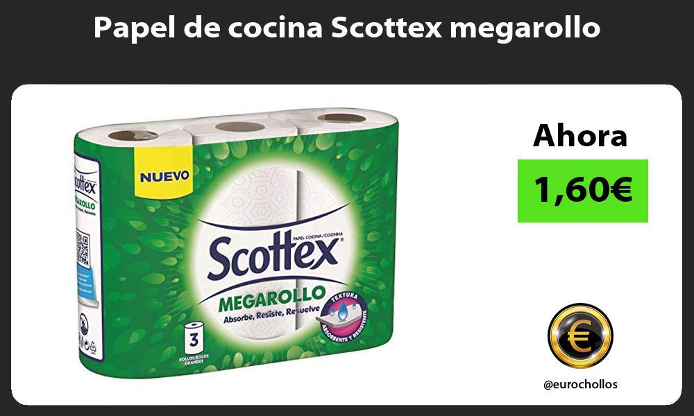 Papel de cocina Scottex megarollo