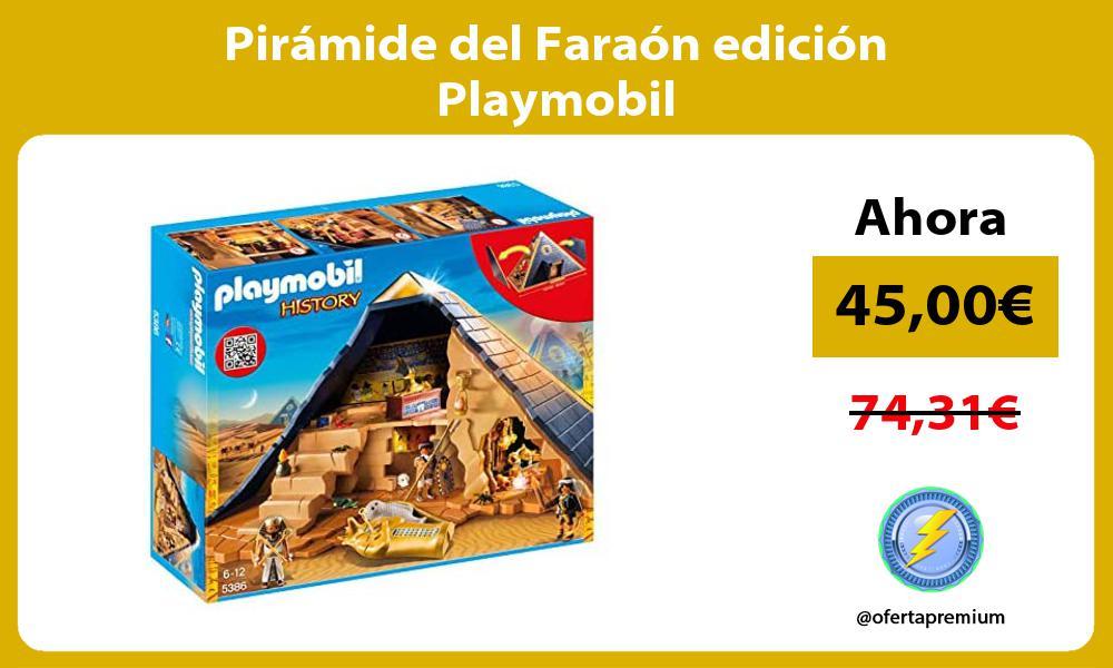 Pirámide del Faraón edición Playmobil