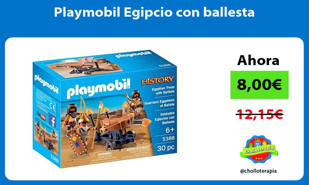 Playmobil Egipcio con ballesta