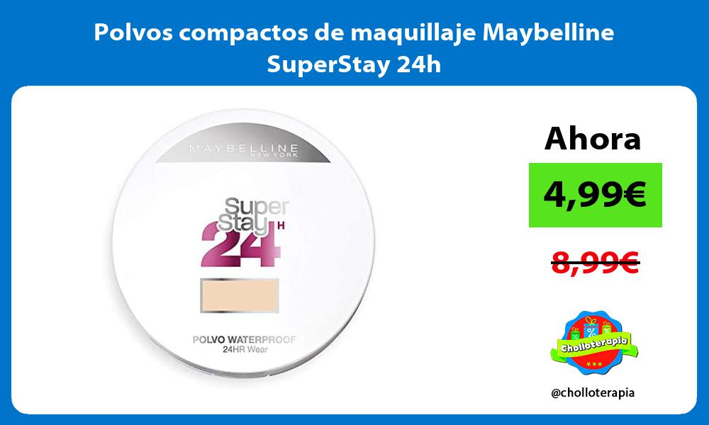 Polvos compactos de maquillaje Maybelline SuperStay 24h