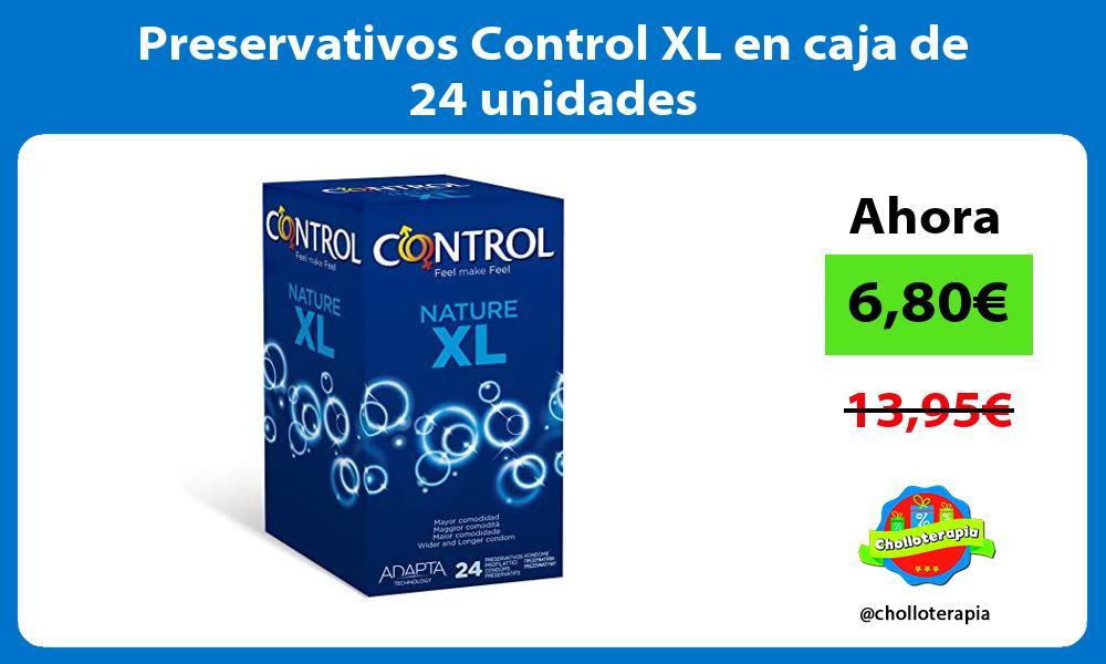Preservativos Control XL en caja de 24 unidades