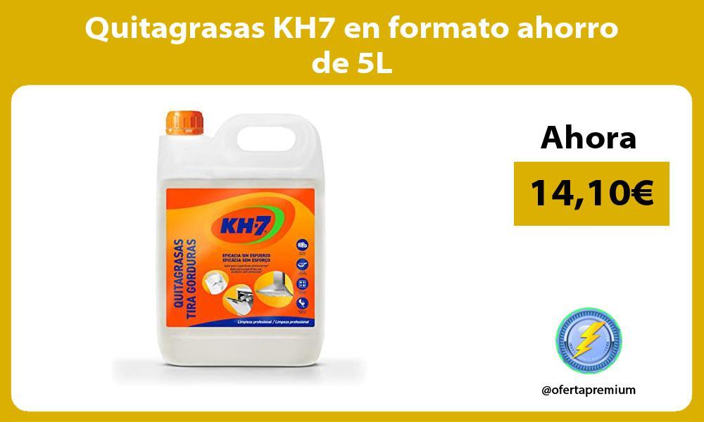 Quitagrasas KH7 en formato ahorro de 5L