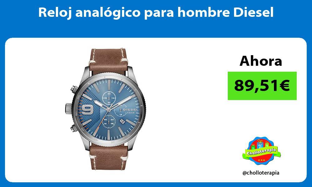 Reloj analógico para hombre Diesel