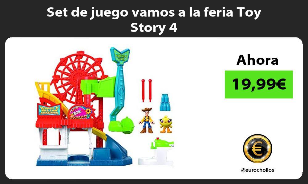 Set de juego vamos a la feria Toy Story 4