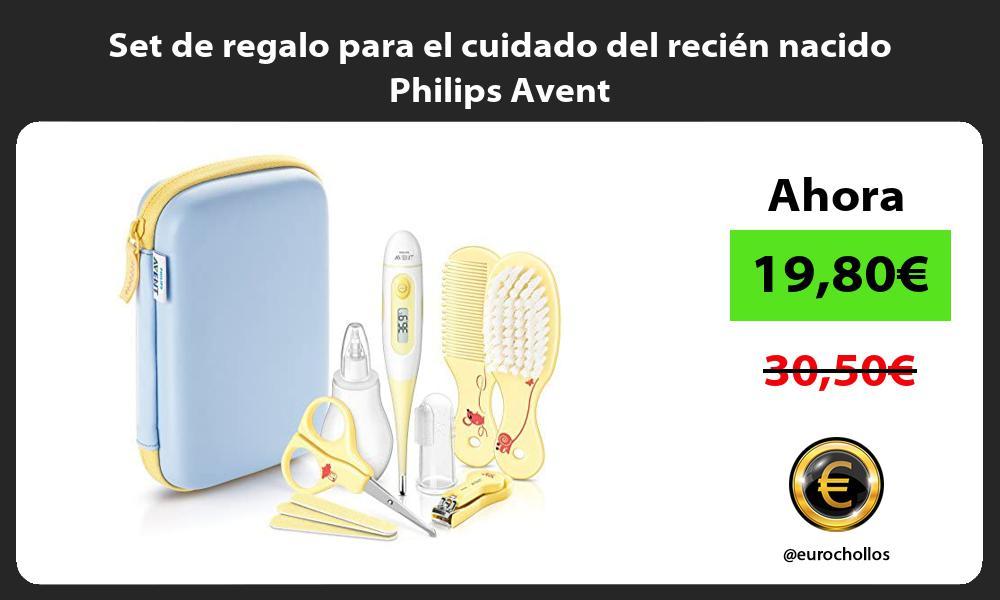 Set de regalo para el cuidado del recién nacido Philips Avent