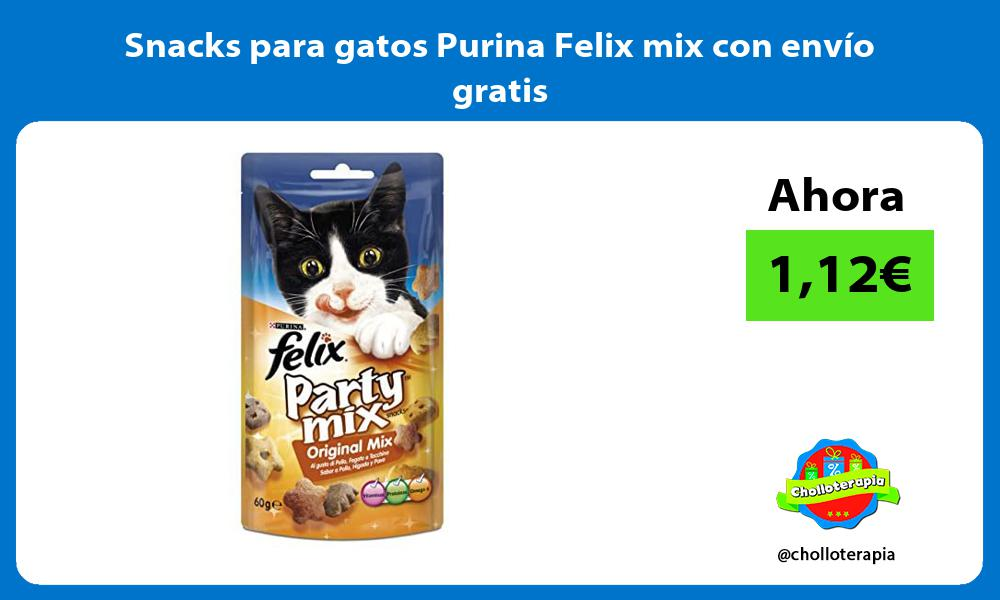 Snacks para gatos Purina Felix mix con envío gratis