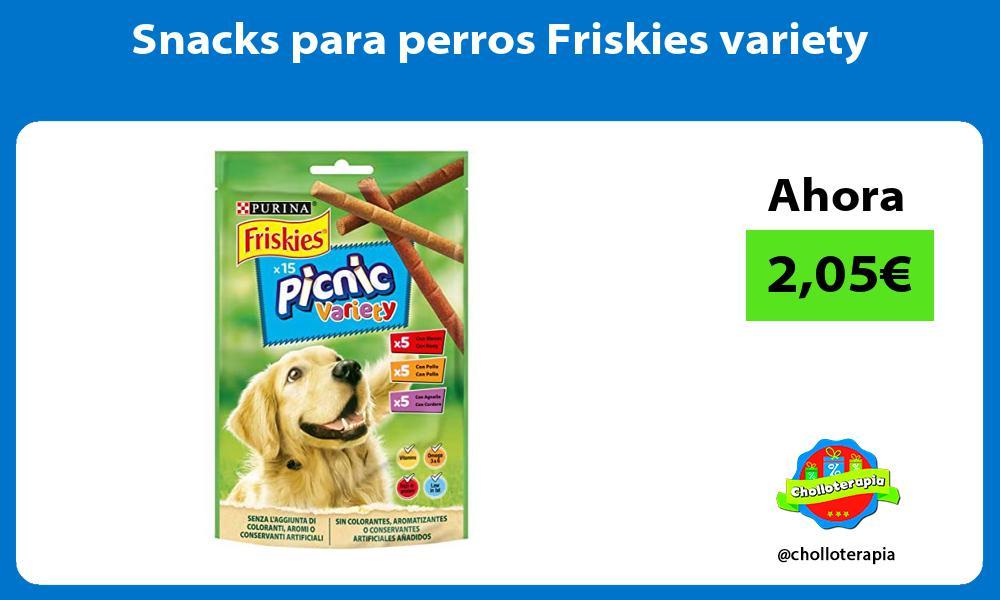 Snacks para perros Friskies variety