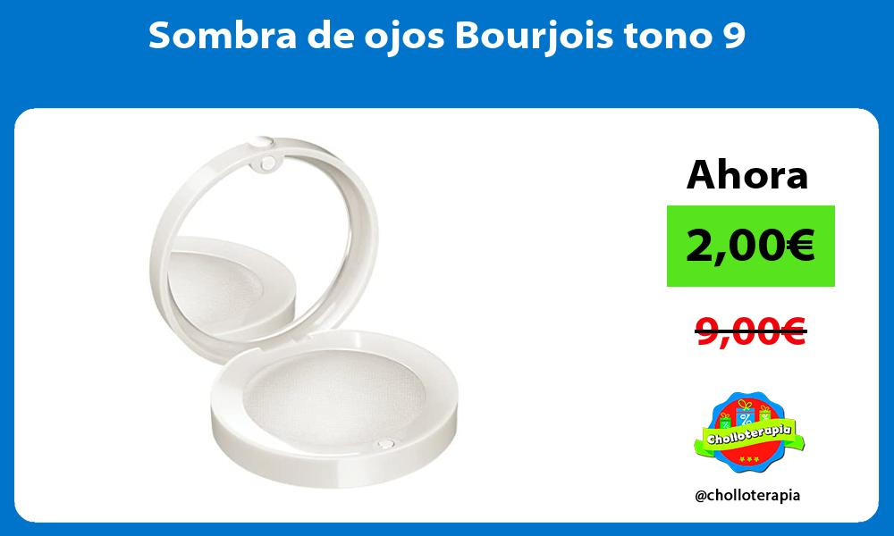 Sombra de ojos Bourjois tono 9