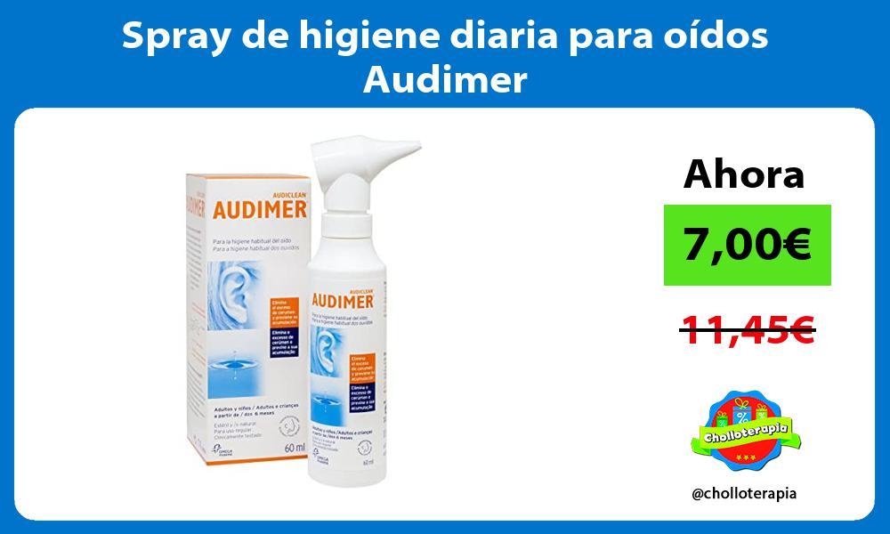 Spray de higiene diaria para oídos Audimer