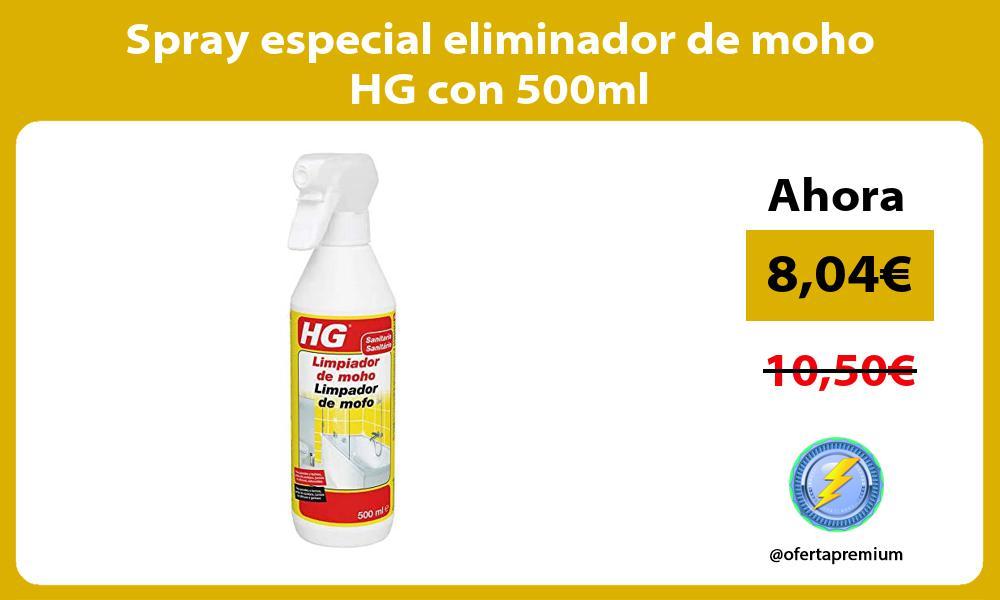 Spray especial eliminador de moho HG con 500ml