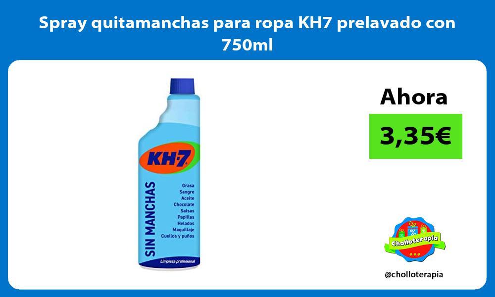 Spray quitamanchas para ropa KH7 prelavado con 750ml