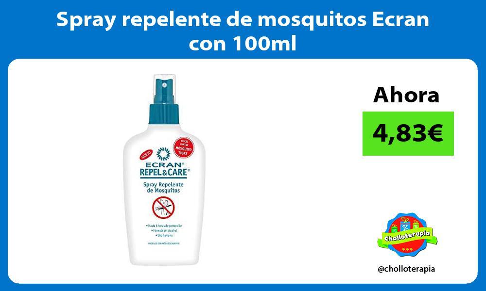 Spray repelente de mosquitos Ecran con 100ml