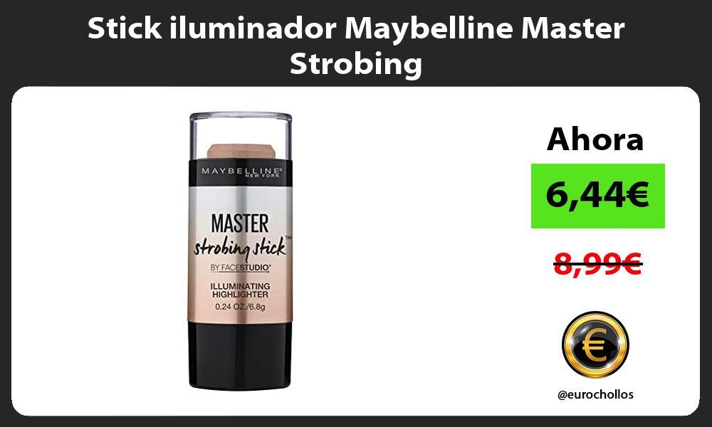 Stick iluminador Maybelline Master Strobing