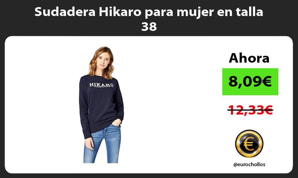 Sudadera Hikaro para mujer en talla 38